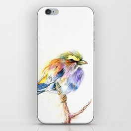Badass Bird iPhone Skin