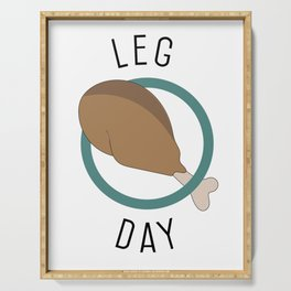 Leg Day Serving Tray