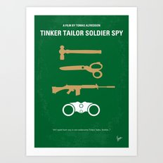 No787 My Tinker Tailor Soldier Spy minimal movie poster Art Print