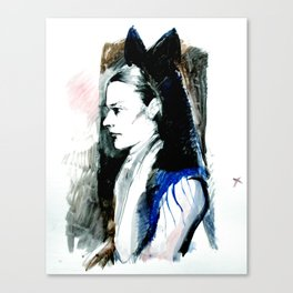 miss spinsley Canvas Print