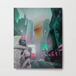 Neon Dreams Metal Print