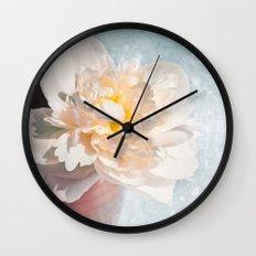 PEONY LADY Wall Clock
