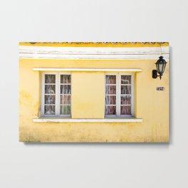 Casa Amarela - Ribeirão da Ilha - Florianópolis Metal Print