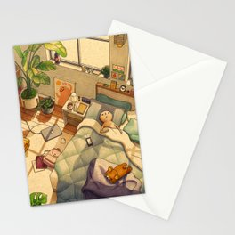 Afternoon Nap Stationery Cards
