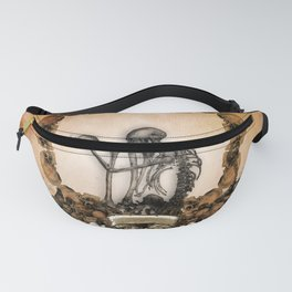 Awesome skeleton with skulls Fanny Pack