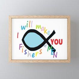 Fishers of Men Framed Mini Art Print