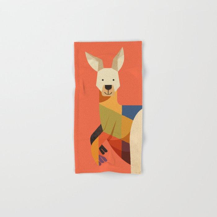 Kangaroo Hand & Bath Towel