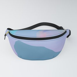Cat Silhouette Design Fanny Pack