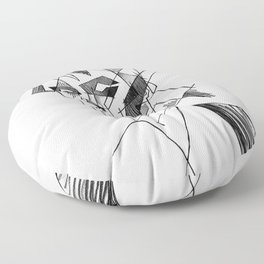 peter murphy 3 Floor Pillow