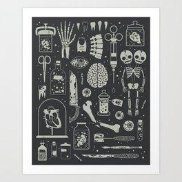 Oddities: X-ray Art Print