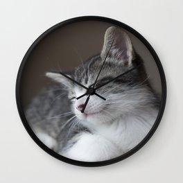 Jack - Kitten Portrait #3 (2016) Wall Clock