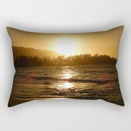 Hawaiian Sunset Rectangular Pillow