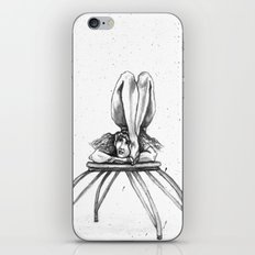 Contortionist at rest iPhone & iPod Skin