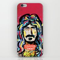zappa iPhone & iPod Skins featuring Zappa by Tolga Hirsova