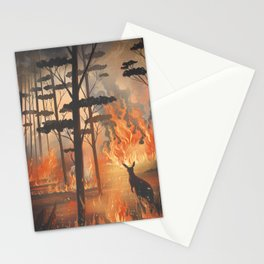 Fire in Australia Stationery Cards
