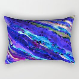 Beneath Blue Waves Rectangular Pillow