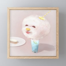 Cotton Candy Drink Framed Mini Art Print