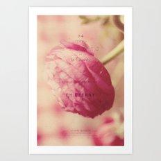 little flower Art Print