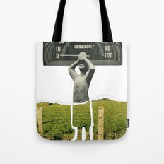 Don't Let The Speed Of Time, Fence You In...... Tote Bag