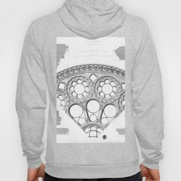 Notre Dame Rose Window Facade Architecture Hoody
