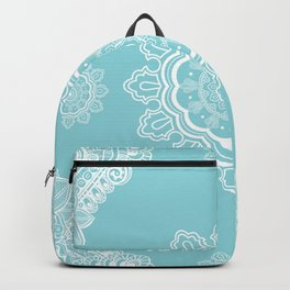 Poetry in Flowers Mandala Beach Sparkle Backpack