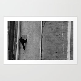 New York City Sidewalk Art Print