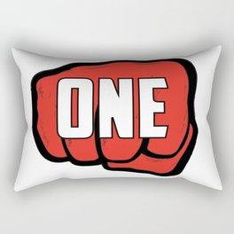 One Punch Rectangular Pillow