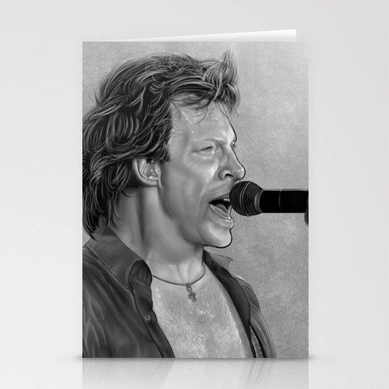 Jon Bon Jovi      Stationery Cards