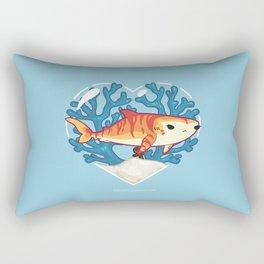 CHOMP the Tiger Shark Rectangular Pillow