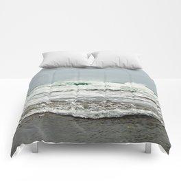 Sea Breaks on the Tidal Shelf Comforters