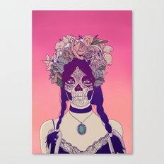 Lady Fy Canvas Print