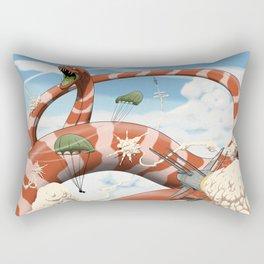Attack of the Giant Muraena Rectangular Pillow