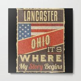 Lancaster Ohio Metal Print
