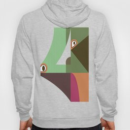 Abstract four Hoody