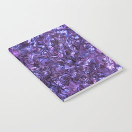 Abalone Shell | Paua Shell | Violet Tint Notebook