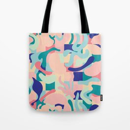 Summer Vibes Pattern Tote Bag