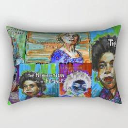 The Revolution Will be Female - 4 Rectangular Pillow