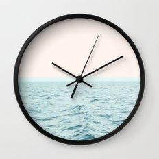 Sea Breeze #society6 #decor #style #tech Wall Clock