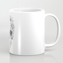 Super cool Skull Molecules Coffee Mug