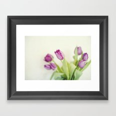 Longing for spring Framed Art Print