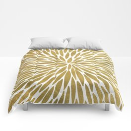Golden Burst Comforters