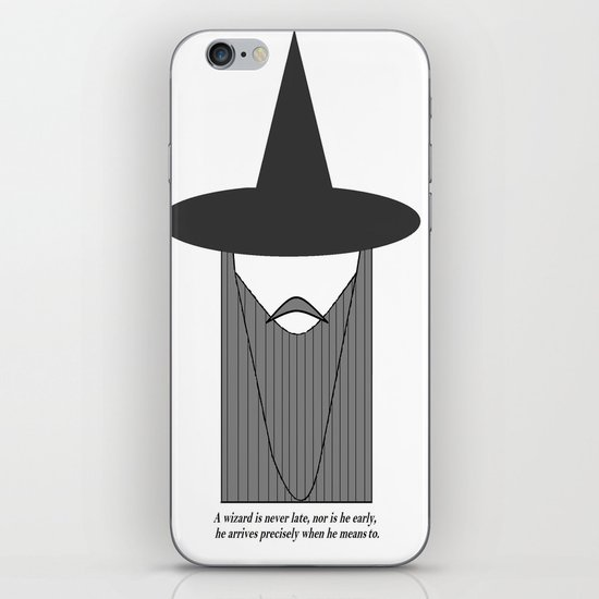 Gandalf Minimalist iPhone & iPod Skin