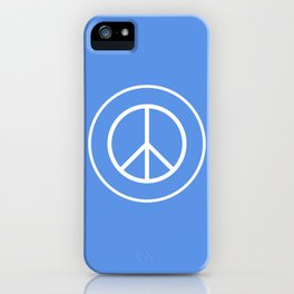 WORLD PEACE iPhone Case