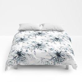 Sketchy Bloom Comforters