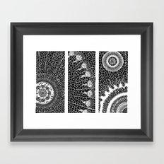 Autogeneración Framed Art Print