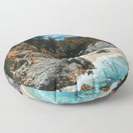 Paradise beach 4 Floor Pillow