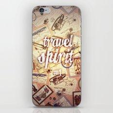 Travel Spirit iPhone & iPod Skin