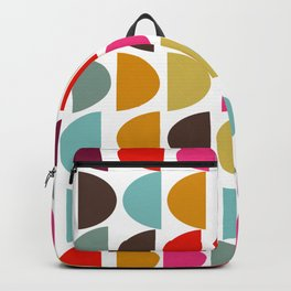 Geometric in Bright Fall Colors Backpack