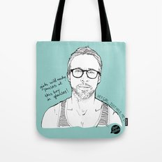 Hey Girl, The Gosling Tote Bag