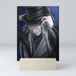 Undertaker Hat Tip Mini Art Print